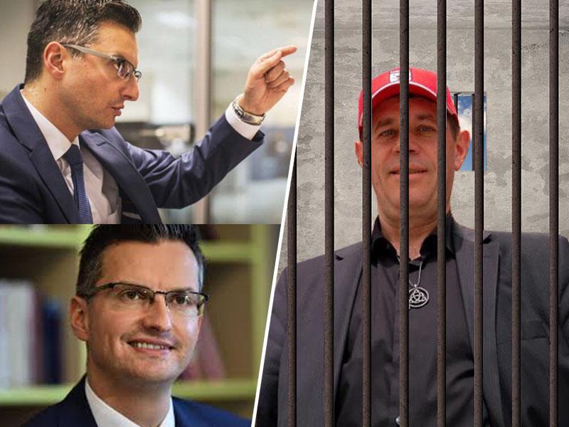 Zedinjena Slovenija s kazensko ovadbo nad Marjana Šarca