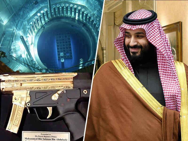 Zloglasni savdski princ nagrajen za umor Hašodžija: dobil zlatega »heklerja«, Trump pa mu pripravlja »jedrsko darilo«