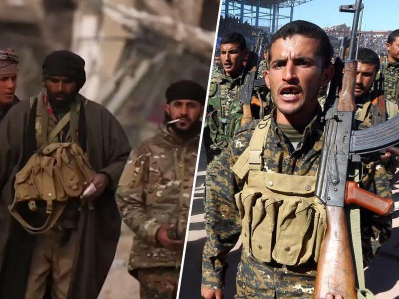 Kurdske sile sprožile zadnjo ofenzivo proti Islamski državi