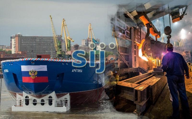 Kako so Rusi okrepili Slovensko industrijo jekla in zagotovili Acronijevo jeklo za ruske ledolomilce