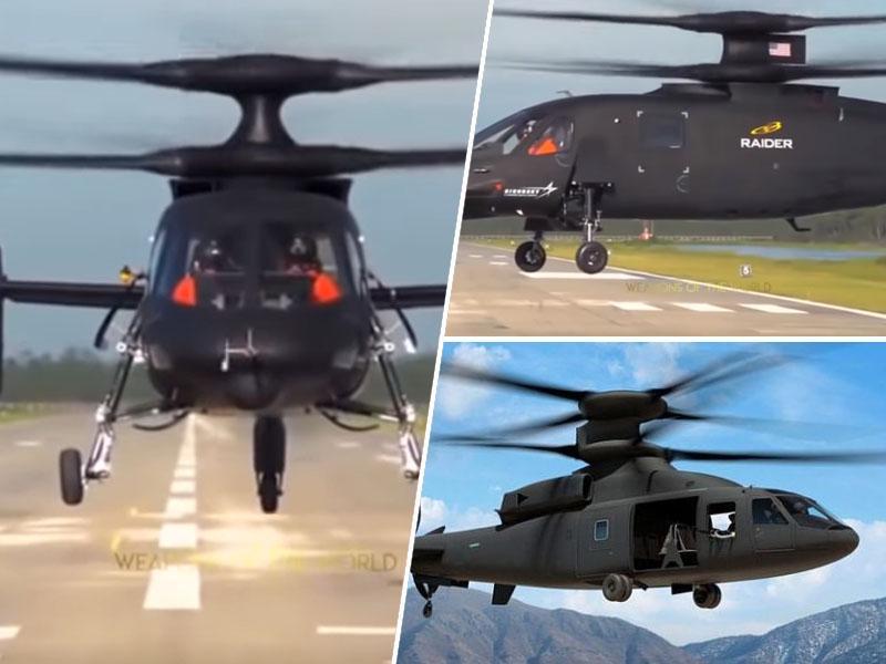 Sikorsky in Boeing razkrila skupni dvo-rotorni zrakoplov SB>1 Defiant