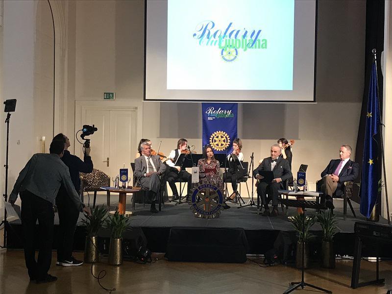 Rotary klub Ljubljana obeležil 30. obletnico s slavnostnim srečanjem