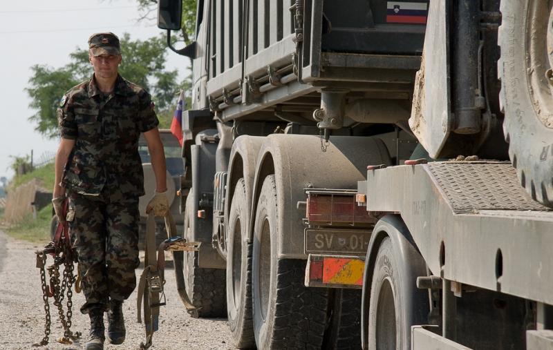 V Nemčiji Slovenski vojski ukradli del tovora