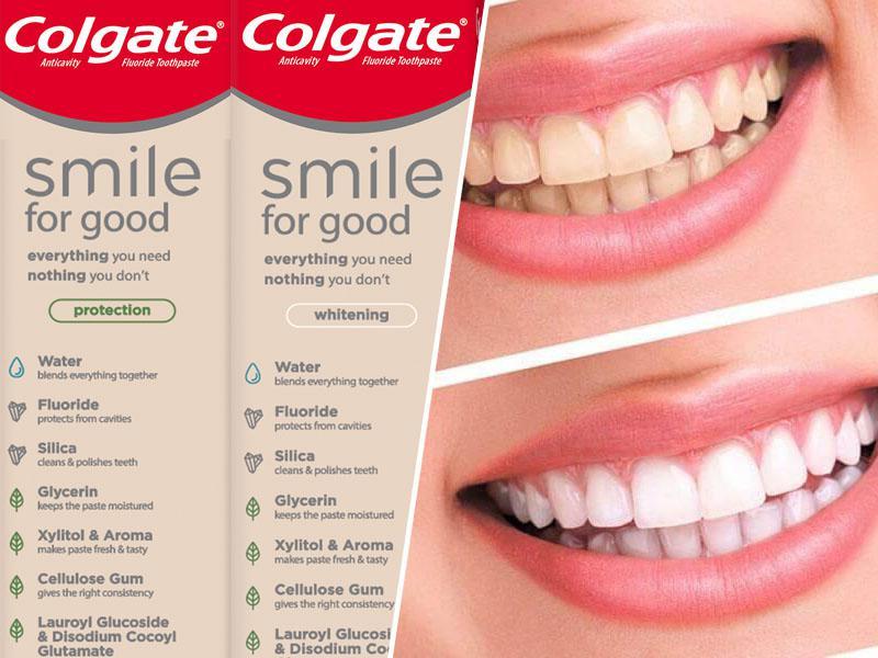 COLGATE® predstavil zobno pasto, ki jo je možno reciklirati