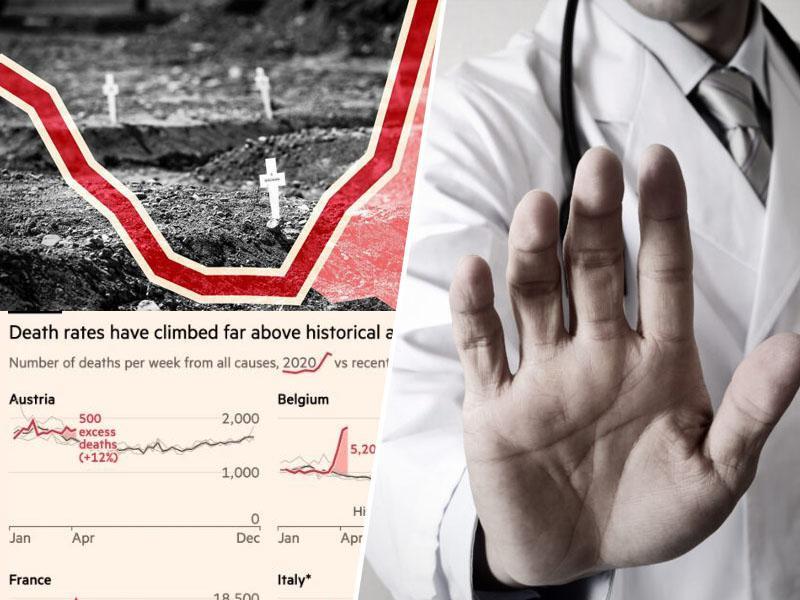 Višek smrti? Resnično število žrtev koronavirusa bi lahko bilo 60 odstotkov višje od uradno sporočenih podatkov