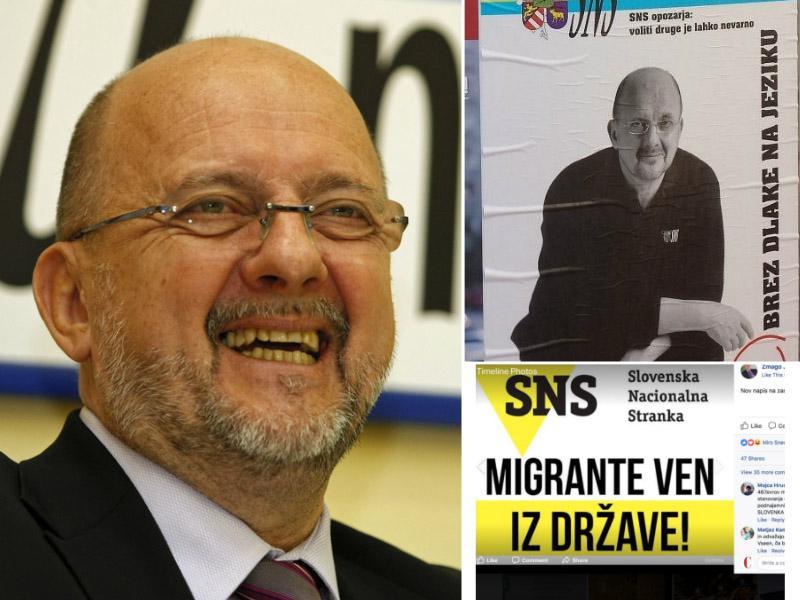 Po dveh mandatih se v poslanske klopi vrača Jelinčičeva SNS