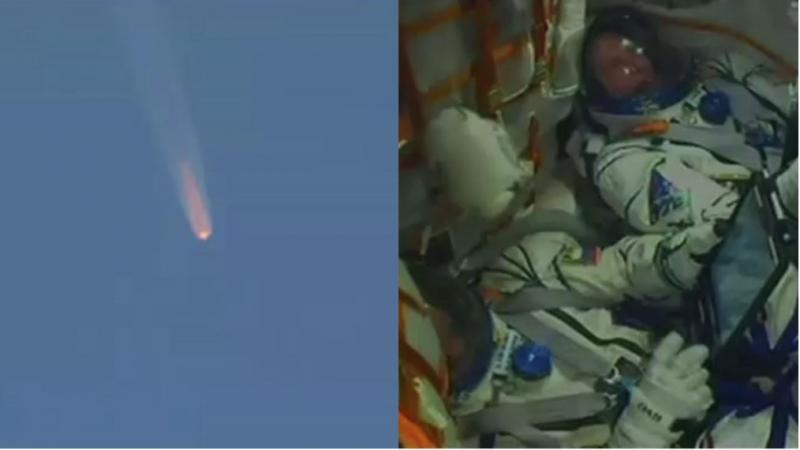Glavna motorja rakete Sojuz po izstrelitvi odpovedala, ameriški in ruski astronavt zasilno pristala