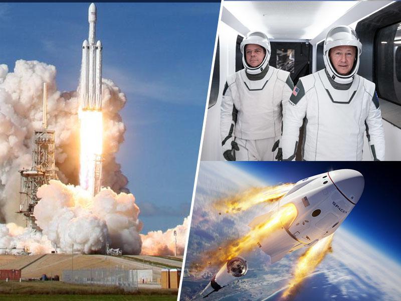 Prelomen dan za ZDA in osvajanje vesolja: SpaceX pošilja dva astronavta na Mednarodno vesoljsko postajo