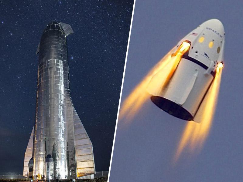 Zvezdna ladja podjetja SpaceX je prvič »zadihala«