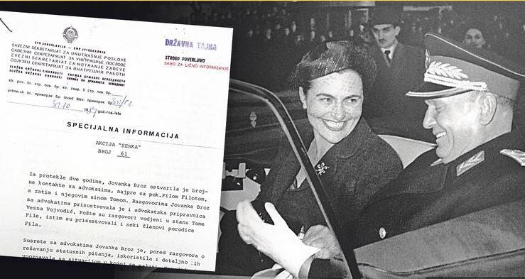 Operacija »Senca«, ki je uničila Jovanko Broz: odkriti detajli sprevržene tajne akcije varnostne službe