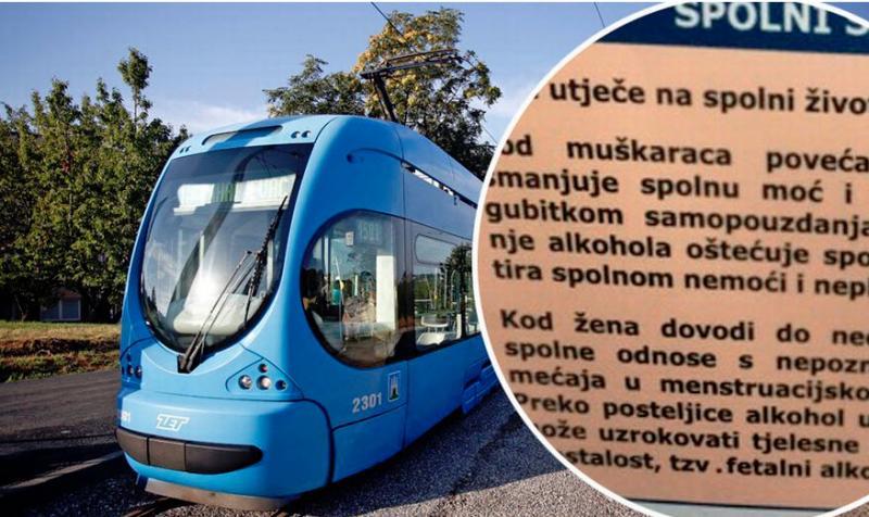Škandal v Zagrebu: mestna uprava izobesila plakate, ki žalijo moške, še bolj pa ženske