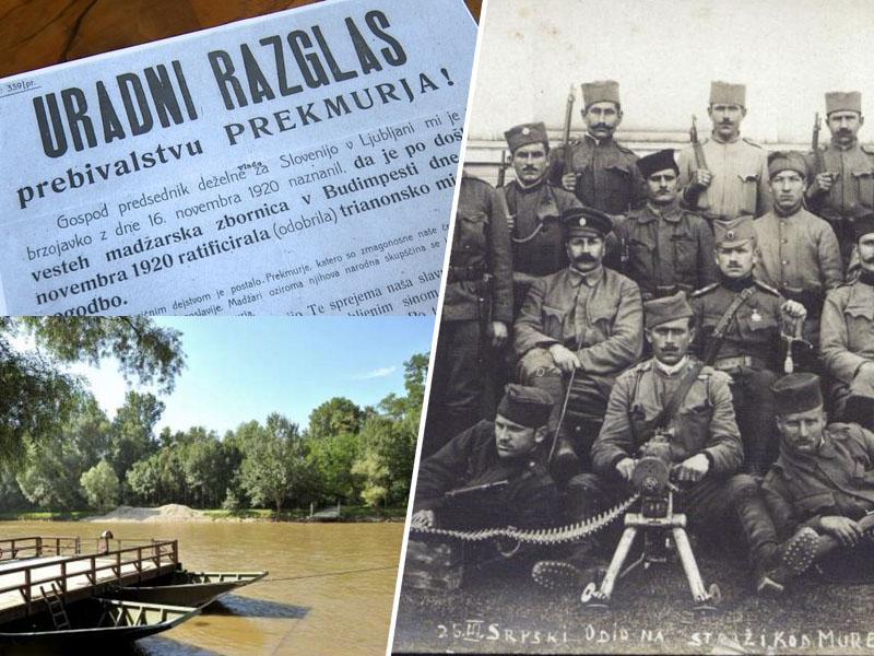 Stoletnica pridružitve Prekmurja SHS: spomin na zgodovinski dan, ko so bili jugoslovanski vojaki osvoboditelji
