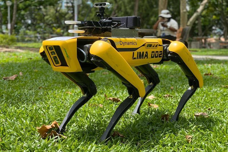 Strašljivo: Ko roboti preverjajo izvajanje ukrepov socialne distance