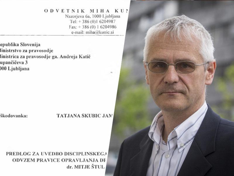 Dr. Mitja Štular: »Odločno zavračam vsa zavajanja, klevetanja, neresnice, nesmisle in kvazistrokovne navedbe«