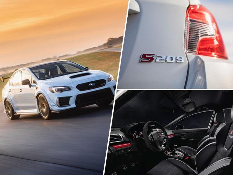 Subaru WRX STI S209: Legenda vrača udarec