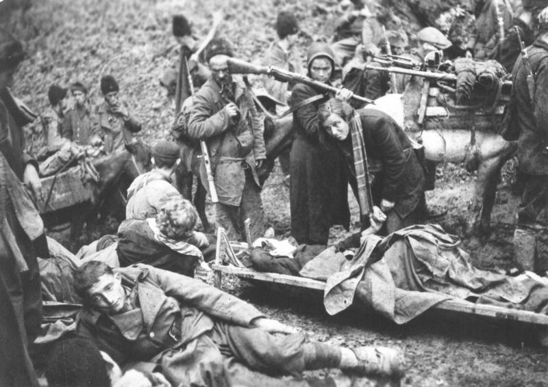 Partizani niso »pustili ranjencev in nemočnih na cedilu«, današnje bolnišnice pa »niso sposobne izzivov pomoči«
