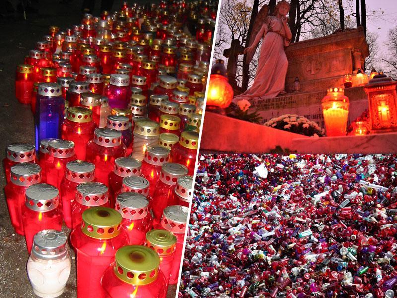 So sveče 1. novembra res nepogrešljive? Ali ne bi namesto sveč raje prižgali - spomin?