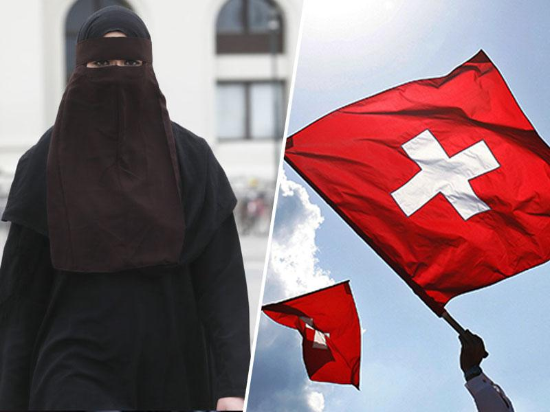 Že drugi švicarski kanton prepovedal burke, nedaleč od Slovenije pa so za zakrivanje obraza ženske celo plačane