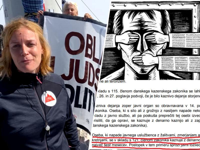 Janša uvaja »žalitev veličanstva«: Ministrstvo za pravosodje kritike vlade izenačuje z zločinci in teroristi