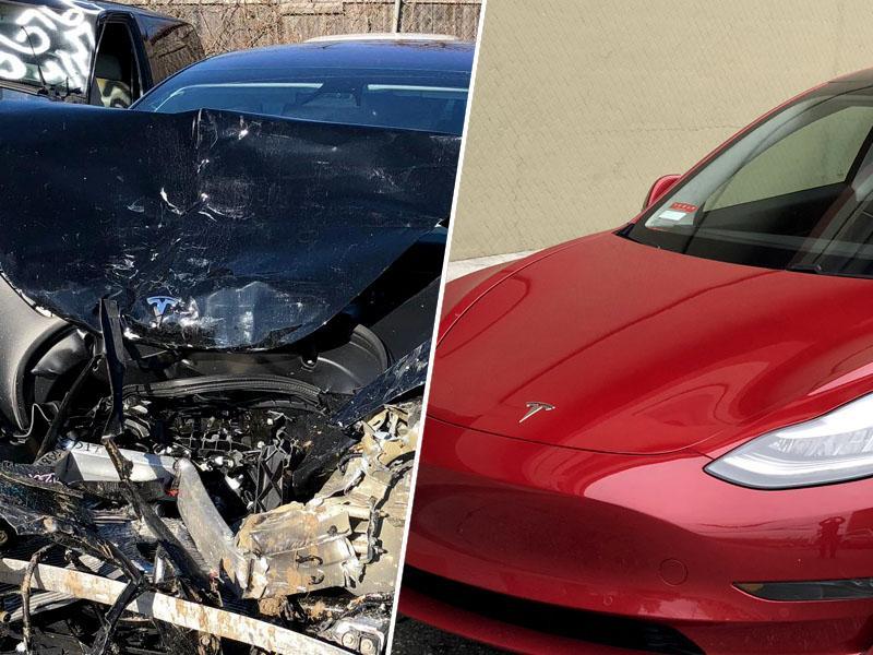 Elon Musk po nesreči Tesle 3 rekordno hitro javno obljubil izboljšave