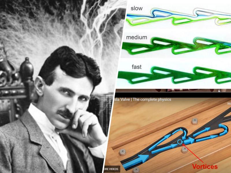 Znanstveniki v ZDA šele po 100 letih ponovno odkrili genialnost patentiranih »Teslinih ventilov«