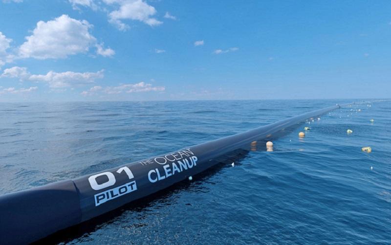 Začel se je projekt odstranjevanja plastičnih odpadkov v Tihem oceanu