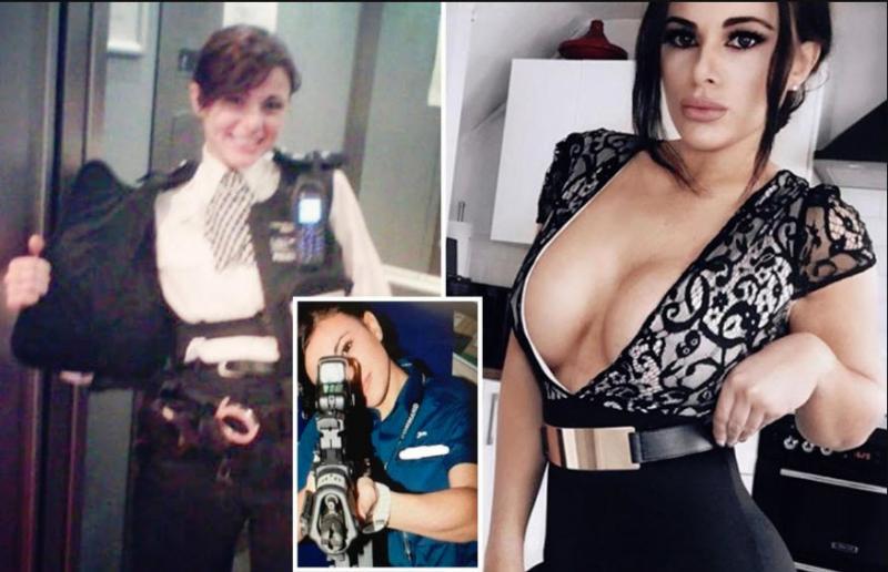 Najbolj seksi policistka na svetu: ko jo vidijo brez uniforme, si vsi želijo, da bi jih nemudoma aretirala