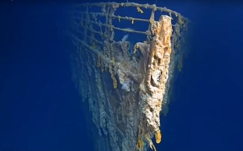 Ameriška podmornica trčila v razbitino znamenitega Titanika, a vlada je incident doslej prikrivala