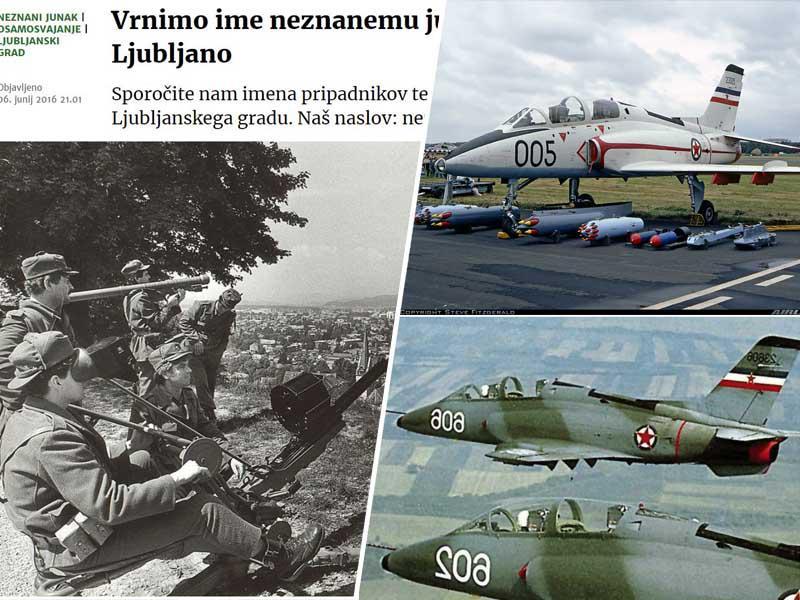 Osem ton bomb za Ljubljano: Kako je lahkomiselnost Janše leta 1991 ogrozila prestolnico in kdo je zares rešil Slovenijo