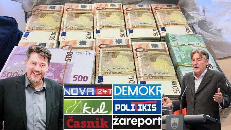 SDS v programu prisega na trg, svoje strankarske medije bi pa takoj priključila na državno denarno korito