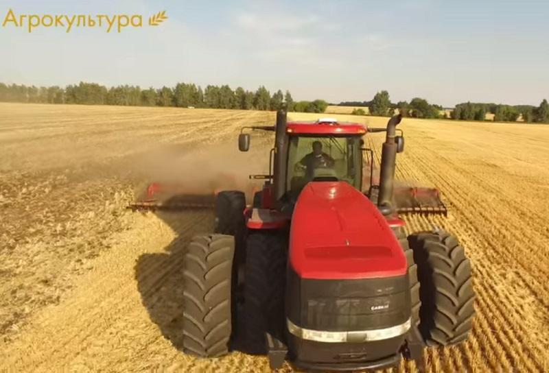 Kmetijstvo na velikih površinah v ruskem slogu