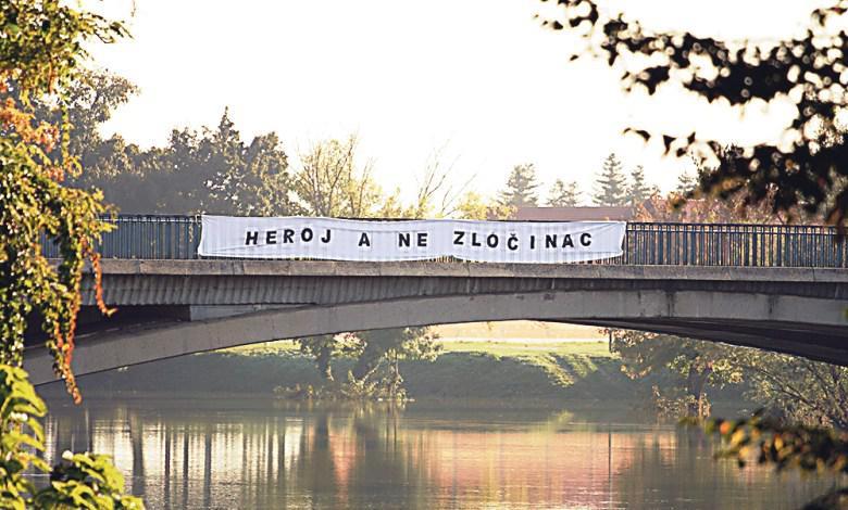 V Karlovcu most poimenovali po vojaški enoti, katere pripadnik je umoril 13 vojnih ujetnikov