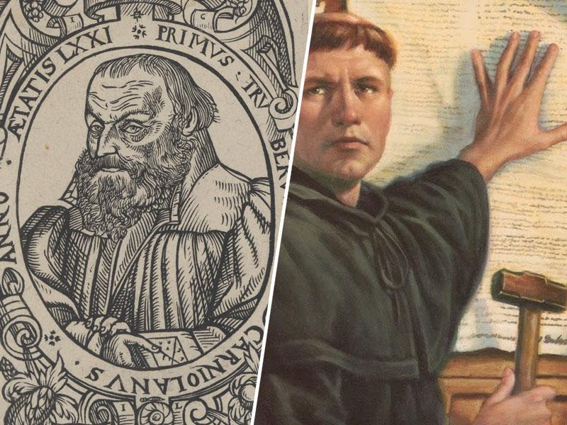 Dan reformacije: spomin na 95 prelomnih tez, ki so prinesle tudi prvo knjigo v slovenskem jeziku