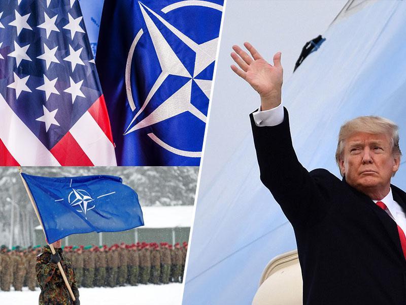 Bolton: Trump bi se lahko odločil za »popoln izolacionizem« in z ZDA izstopil iz zveze Nato