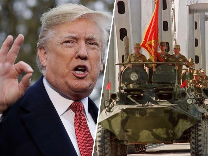 Trump: Sovjeti so imeli pravico do napada na Afganistan, to je bila »vojna proti terorizmu«