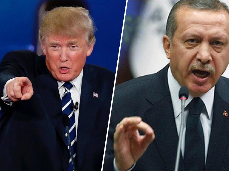 Usodna napaka? Trump grozi: »Če Turčija napade Kurde, jo bomo uničili«