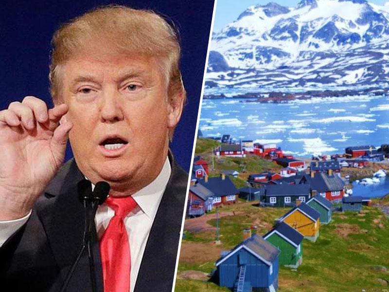 Trump želi kupiti Grenlandijo, Danci menijo, da je to »grozna ideja« in »prvoaprilska šala, ampak čisto izven sezone«