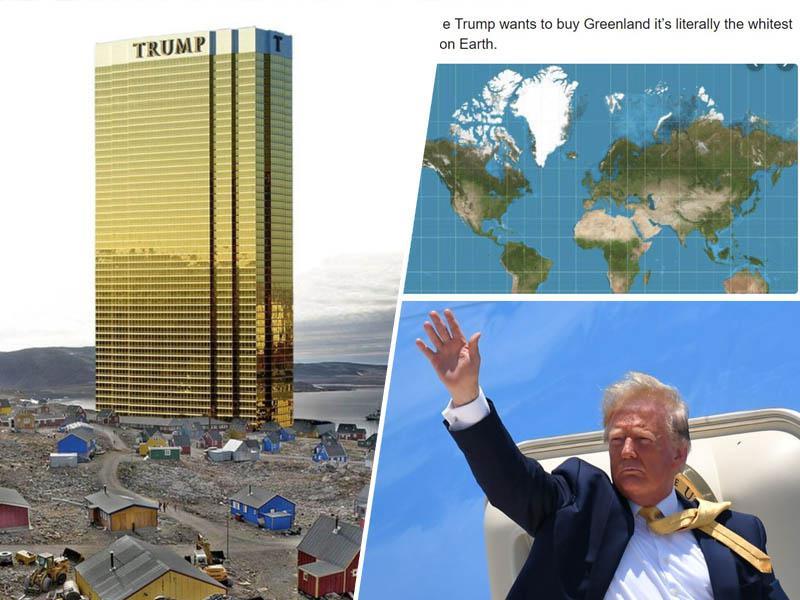 Trump: »Nakup Grenlandije je samo nepremičninski posel.« Danska premierka: »Ideja je absurdna«