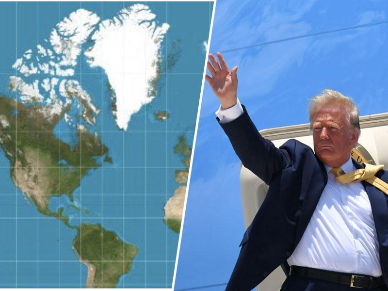 Trump zaradi nepripravljenosti na prodajo Grenlandije odpovedal obisk Danske. Zakaj pa se je premierki - zahvalil?
