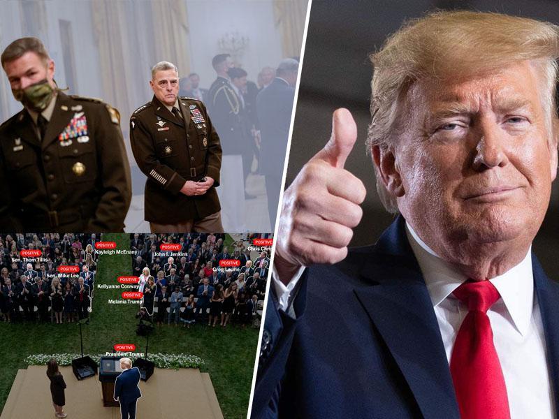 Poražen vojaški vrh ZDA: Koronavirus v samoizolacijo pregnal tudi celoten generalštab ameriških oboroženih sil