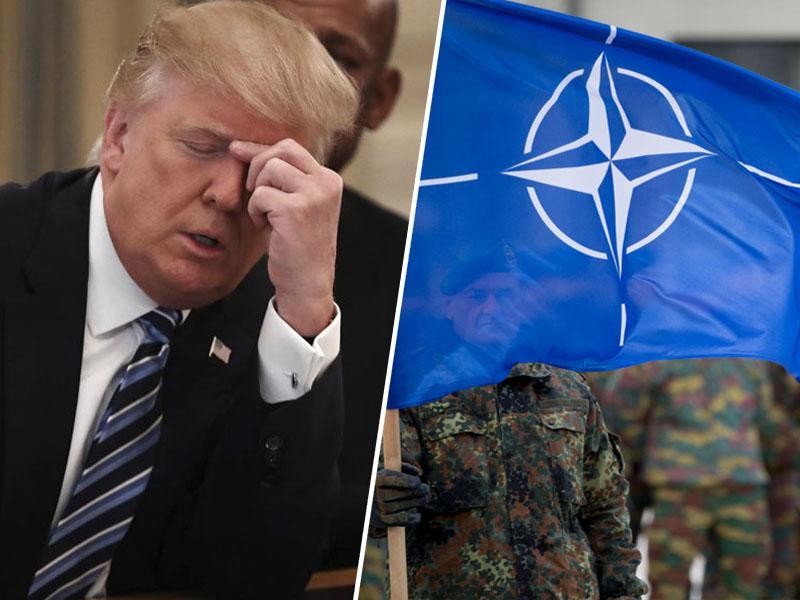 Trump: zelo agresivni Črnogorci bi nas lahko popeljali v tretjo svetovno vojno
