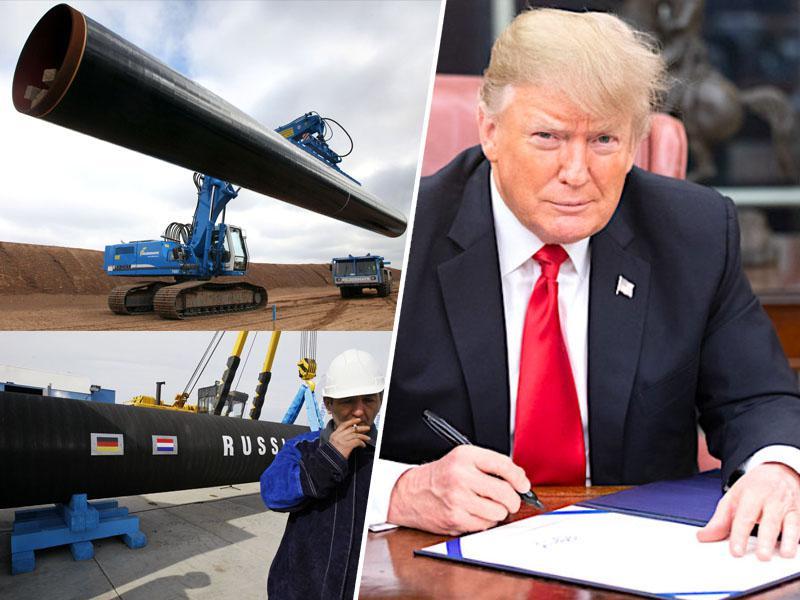 Škodljivo, a prepozno: ZDA tudi evropskim podjetjem uvedle sankcije zaradi plinovodov, ki so skorajda že zgrajeni