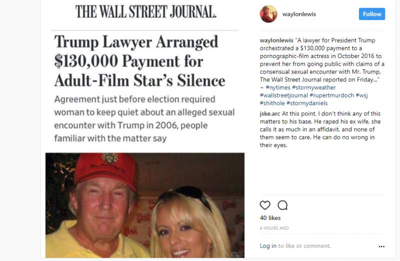 Porno igralka o Donaldu Trumpu: »Lovil me je po sobi v belih spodnjicah«