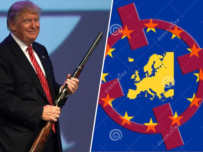Trump cilja Rusijo, razmišlja o Kitajski, zadel pa je - Evropo