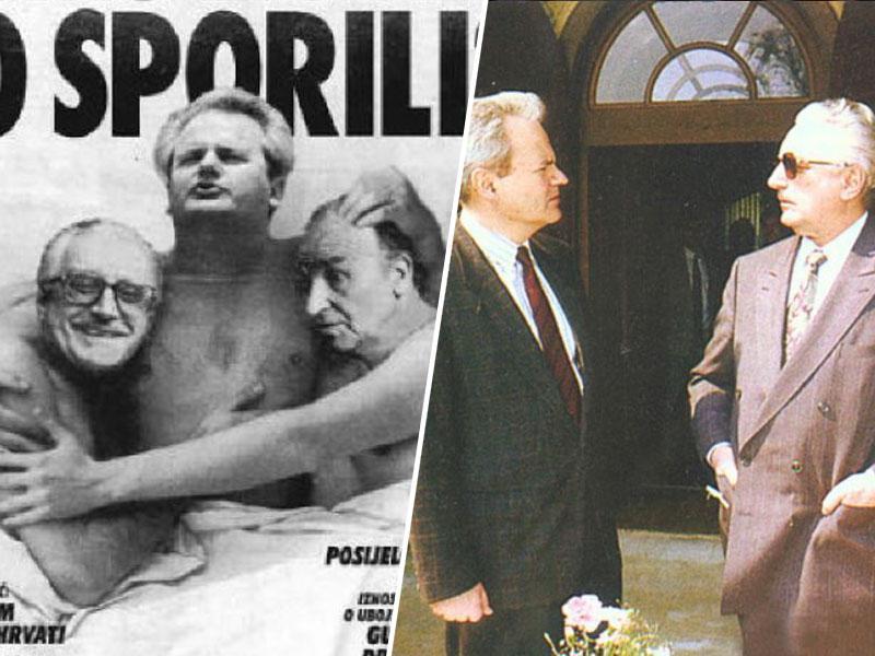 Hrvaški general razkriva, kako sta se o delitvi BiH dogovarjala Tuđman in Milošević