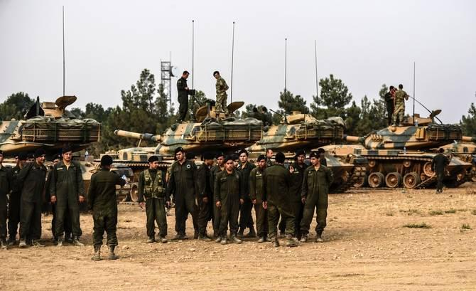 Erdogan zagrozil z novo invazijo v Sirijo