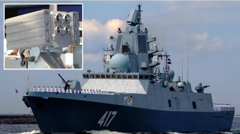 Britanci vznemirjeni: pred britansko obalo zaplule ruske ladje z novim orožjem, ki sproža halucinacije