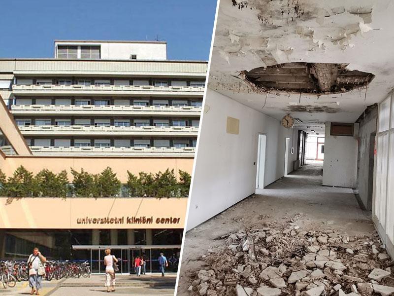 Potresno nevarno in plesnivo (1): razkrivamo nevarno prenovo nekdanjega ZVD za bolnike s covidom v režiji UKC Ljubljana