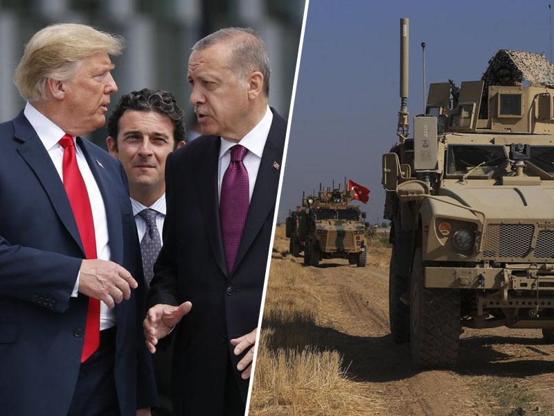 Izdaja zaveznikov: ZDA se umikajo in zapuščajo kurdske sile v Siriji
