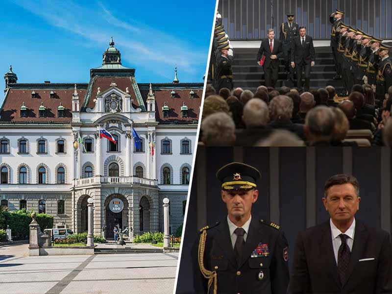 Protest zoper vojaško degradacijo stoletnice Univerze v Ljubljani